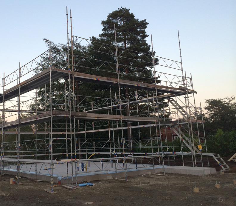 hyra byggställning borås
